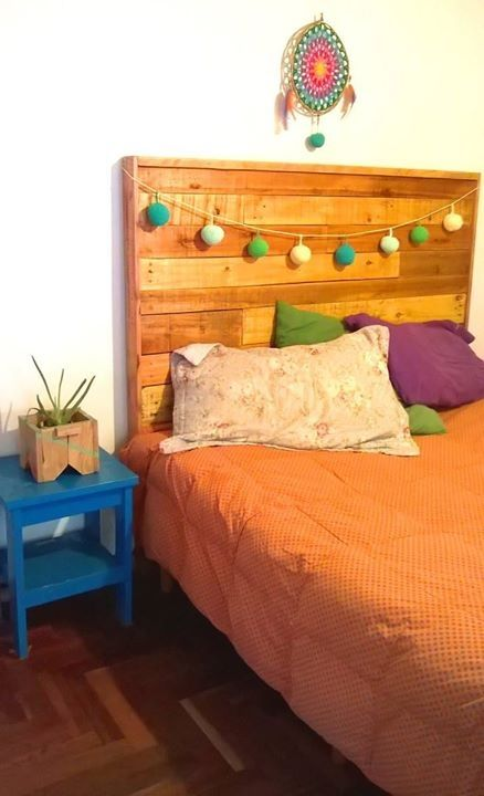 Fabricamos respaldos de cama. Precio $1200
