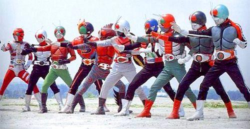 Generations of Kamen Rider