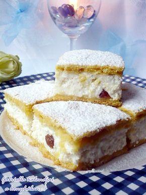 Gabriella kalandjai a konyhában :): Pehelykönnyű túrós pite