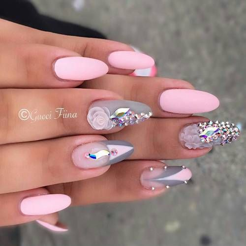18 Beautiful and Unique Trendy Nail Art Designs