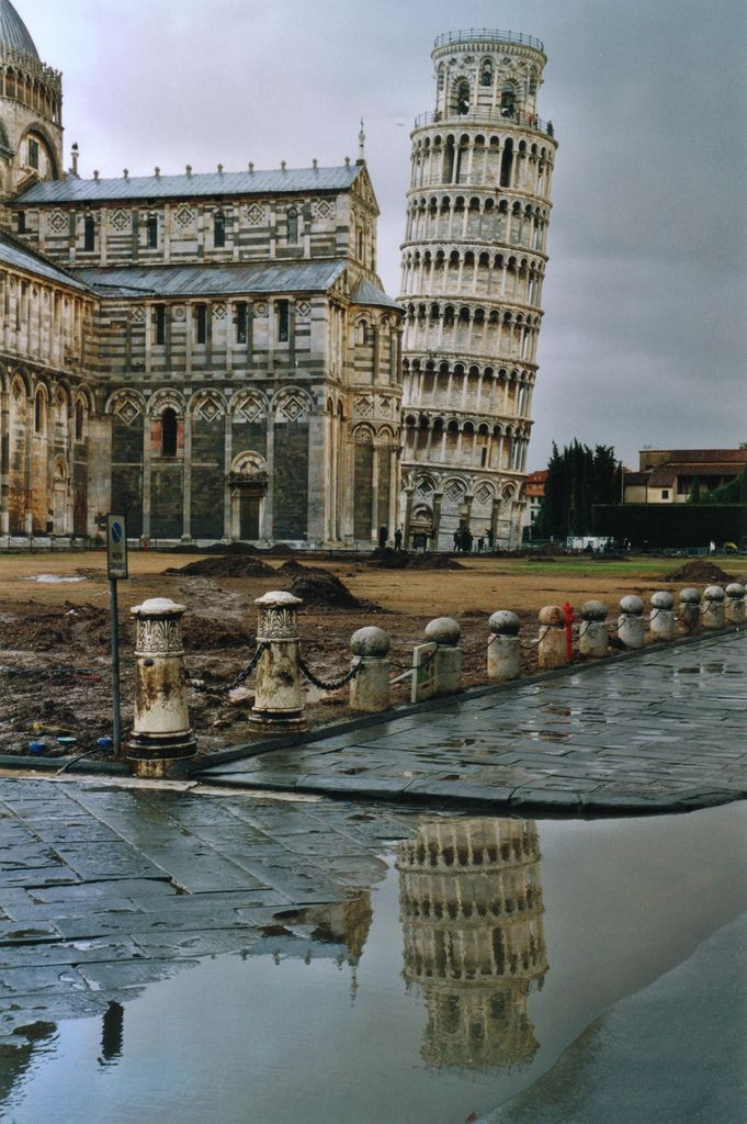 The leaning tower of Pisa in Italy is a must to see. Add that to your travel bucket list. Check out 81 other iconic landmarks in the world that you have to add to your bucket list.