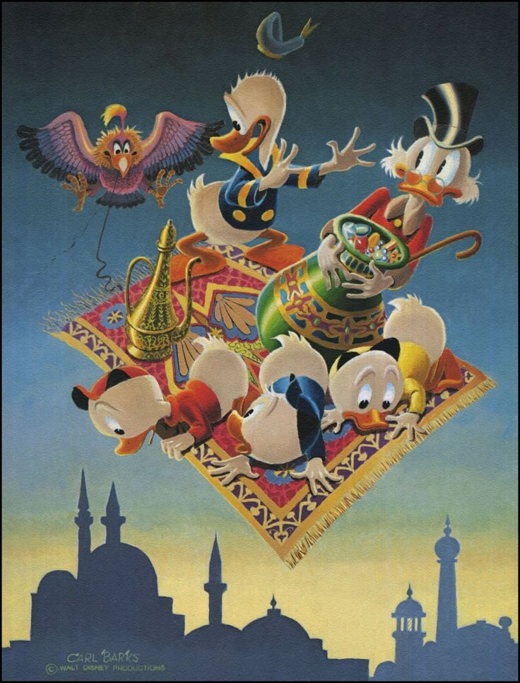 Donald Duck and Uncle Scrooge - Adventure in Old Persia by Carl Barks