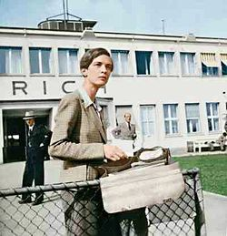 Annemarie Schwarzenbach, at Swiss Airport Zürich