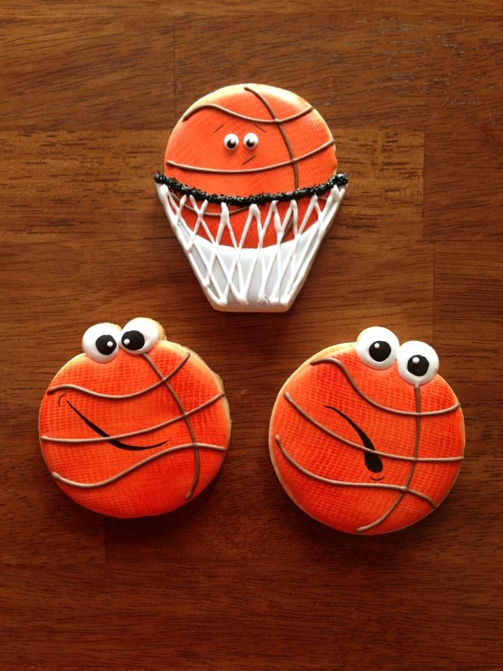 basketball cookies  https://www.facebook.com/pages/My-Nanas-Nibbles/680299598665396