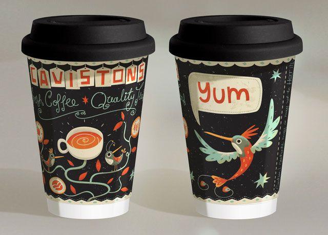 Cavistons Coffee Cup by Steve Simpson