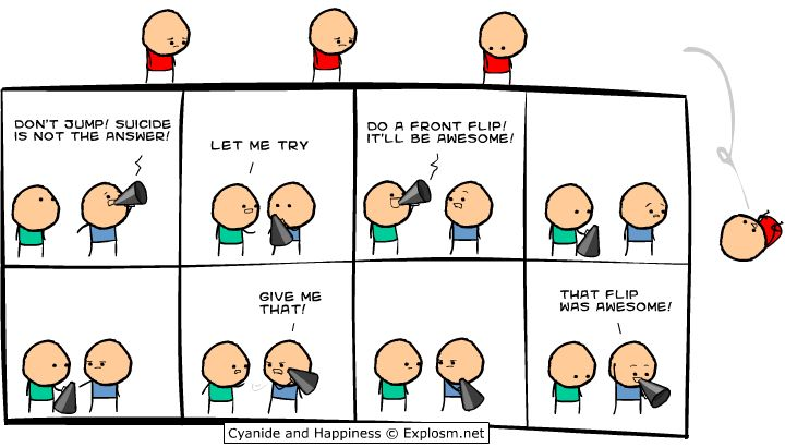 Just Kris and his funny comics