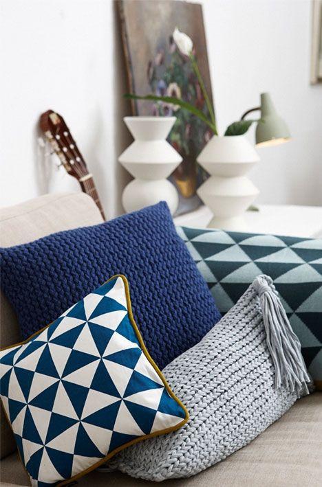 Knit with quick knit ring// Strik uden pinde: Flotte puder