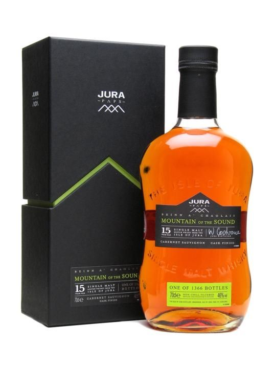 Isle of Jura Mountain of the Sound / 15 Year Old Scotch Whisky : The Whisky Exchange