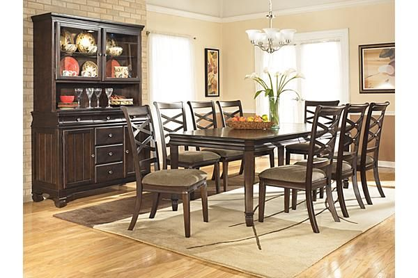 The Hayley Dining Room Extension Table From Ashley Furniture Homestore The Rich