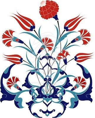 Design Inspiration: the Turkish Tulip and a Fireplace Mantel | Susan Fredman Design Group