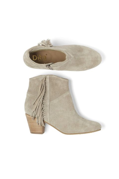 Stitch Fix Spring Shoes: Fringe Booties