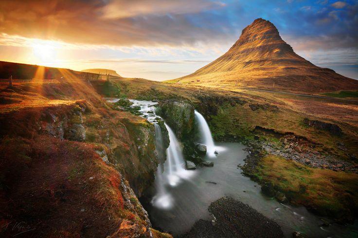 Icelandic cliché: Kirkjufellsfoss by Tomasz Koprowski on 500px