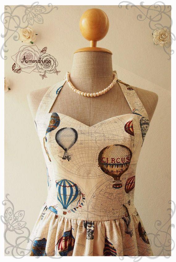 Best 25 world map fabric ideas on pinterest world map bedroom love journey dress balloon world map dress whimsical sundress vintage inspired dress summer dress party gumiabroncs Choice Image