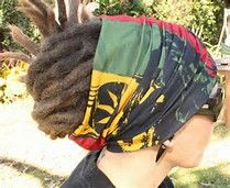 Image result for scarf wrapped dreads