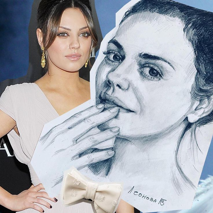 """Mila Kunis was born Milena Markovna Kunis to a Jewish family in Chernivtsi, Ukraine, USSR (now independent Ukraine). Actress in """"Black Swan"""" and """"Bad moms"""", """"Family guy"""", """"Ted"""".  Follow tag: #uleo_portrait  You can find me also:  Patreon: https://www.patreon.com/ulianna_leonova  #art #drawing #pencils #pencil #portrait #portraits #milakunis #milenakunis #artlover #loveart #supportarts #supportartists #artlover #fineart #fanart #art🎨 #blackswan"""