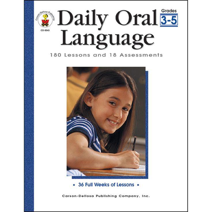 DAILY ORAL LANGUAGE GR 3-5