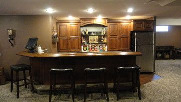 basement bars bar ideas nebraska glaze basements thanks job cabinets