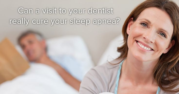 Cure your sleep apnea with a visit to your dentist in McLean VA