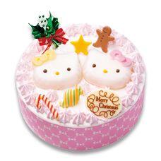 KITTY&MIMMY 仲良しクリスマス | ケーキ・洋菓子 | 不二家
