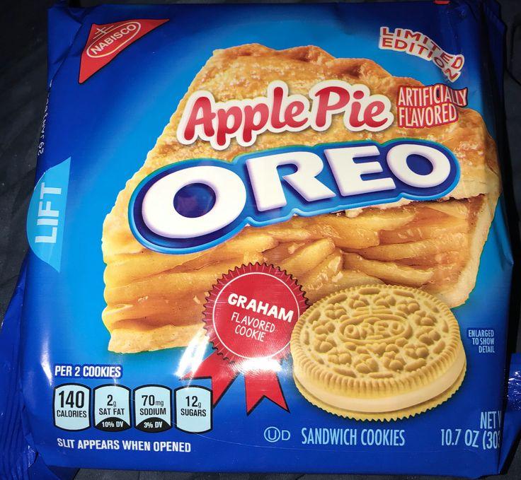 Nabisco limited edition apple pie Oreo sandwich cookies
