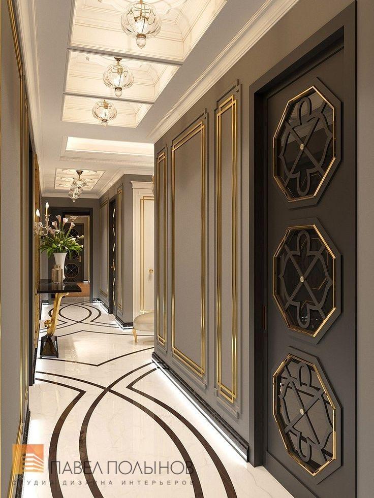Фото интерьер холла из проекта «Дизайн квартиры в стиле парадной неоклассики с элементами арт-деко, элитный жилой комплекс «Привилегия», 250»