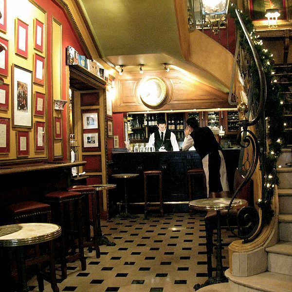 Café Procope, in rue de l'Ancienne Comédie, 6th arrondissement, is called the oldest restaurant of Paris in continuous operation. It was opened in 1686