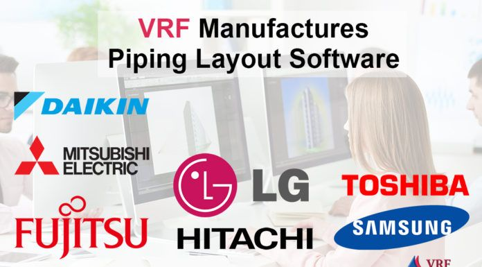 Vrf Piping Design Software Piping Design Software Design Variable Refrigerant Flow