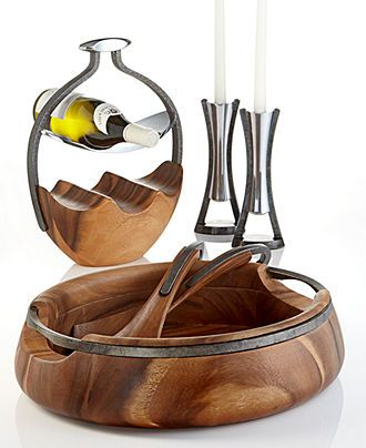 Nambe Serveware, Anvil Collection - Serveware - Dining & Entertaining - Macy's