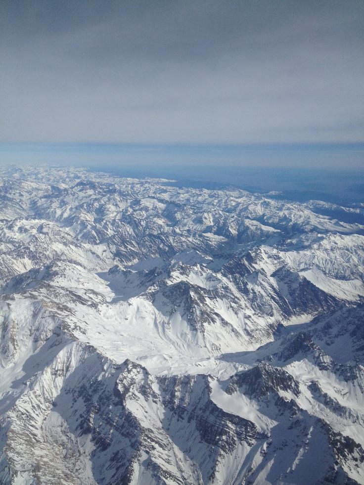 Cordillera de Los Andes - Chile y Argentina