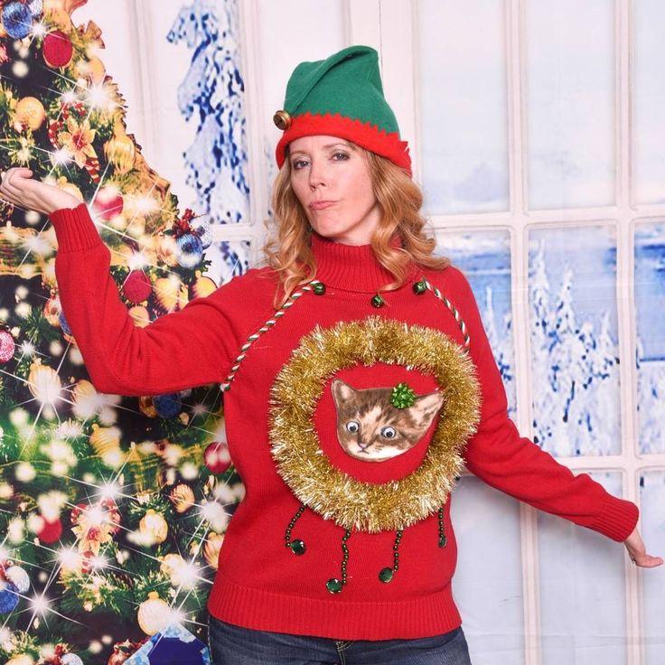 Christmas Turtleneck Womens