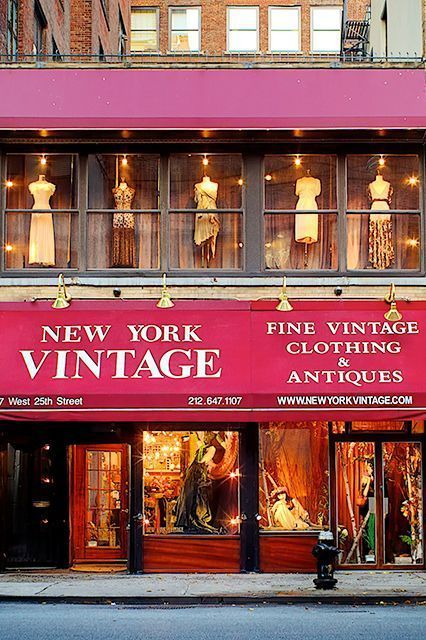 An Insider's Guide To Shopping Vintage In NYC