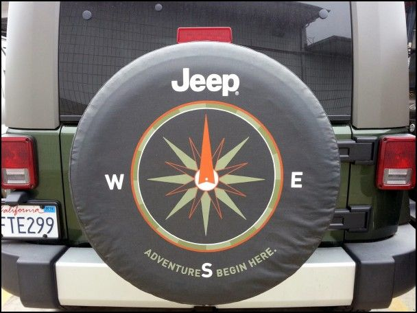 Spare Wheel Covers For Jeeps