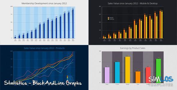 Statistics - Block and Line Graphs