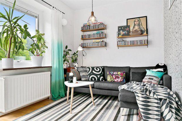 Salon - wnętrza, meble, dekoracje - Domosfera.pl
