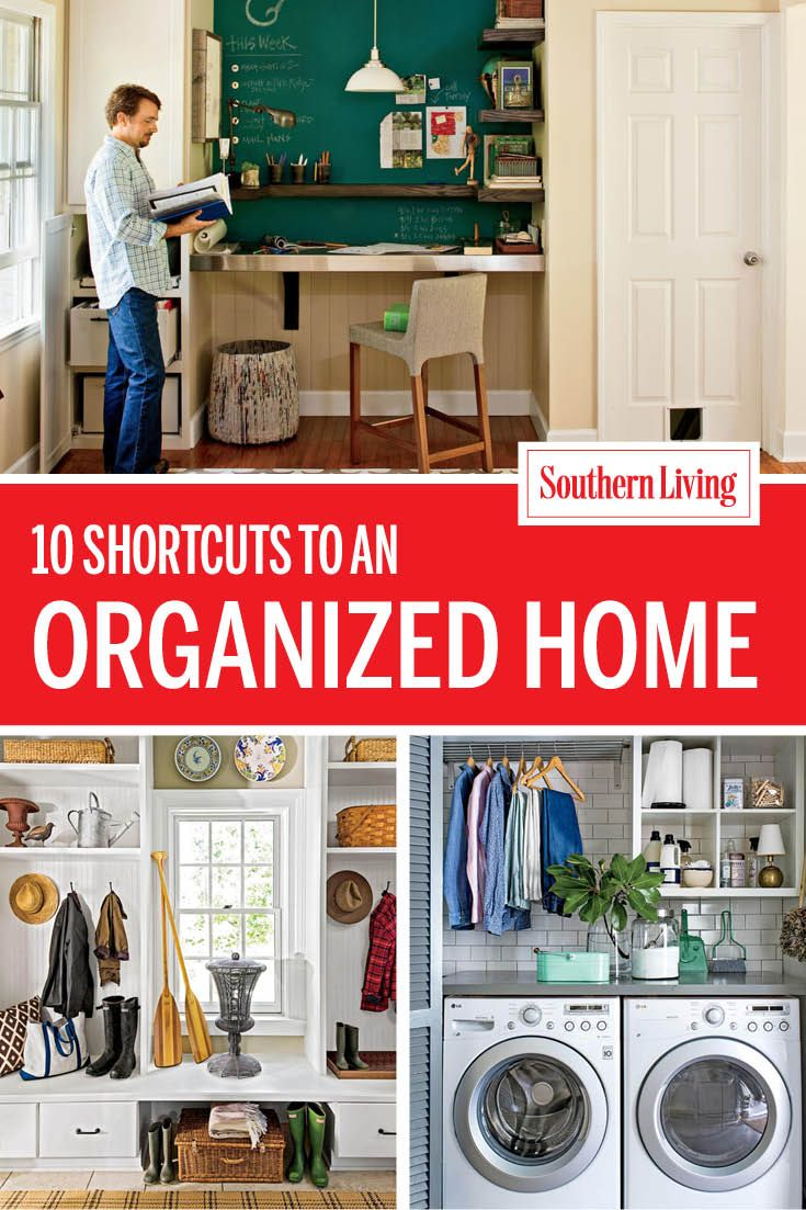 Simple Shortcuts To Get Organized