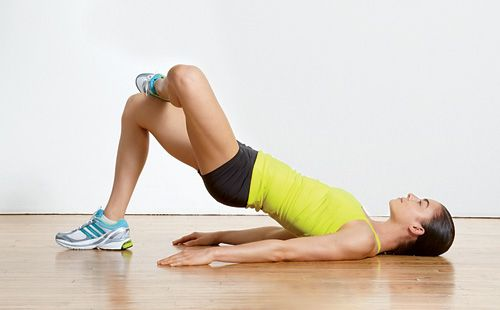Exercise to relieve knee pain from running.