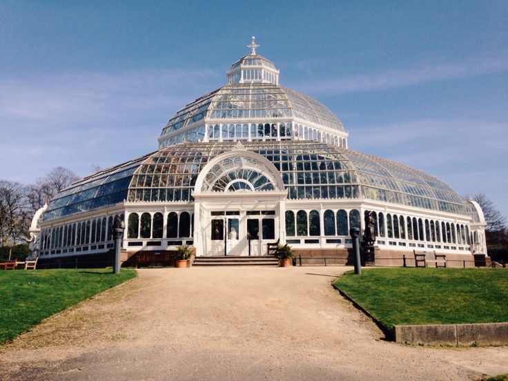 Palm House situated in Sefton Park, Liverpool. A three tier domed conservatory. Opened in 1896 and restored in 2001. Houses exotic plants.