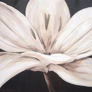 Dibujos flores blanco y negro