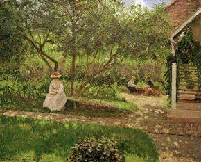 Camille Pissarro - Pissarro / Coin de jardin à Eragny