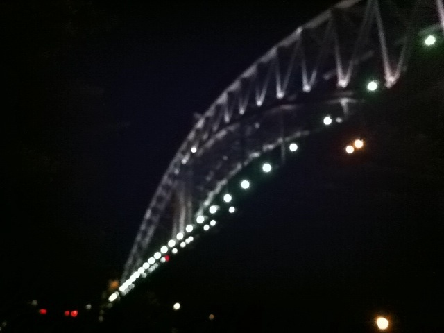 The Bridge @ night