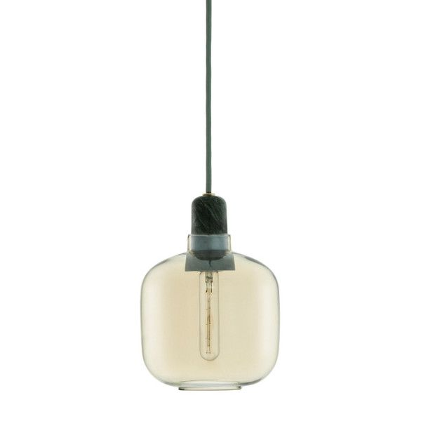 AMP pendel lampe glass/marmor   Kollekted by