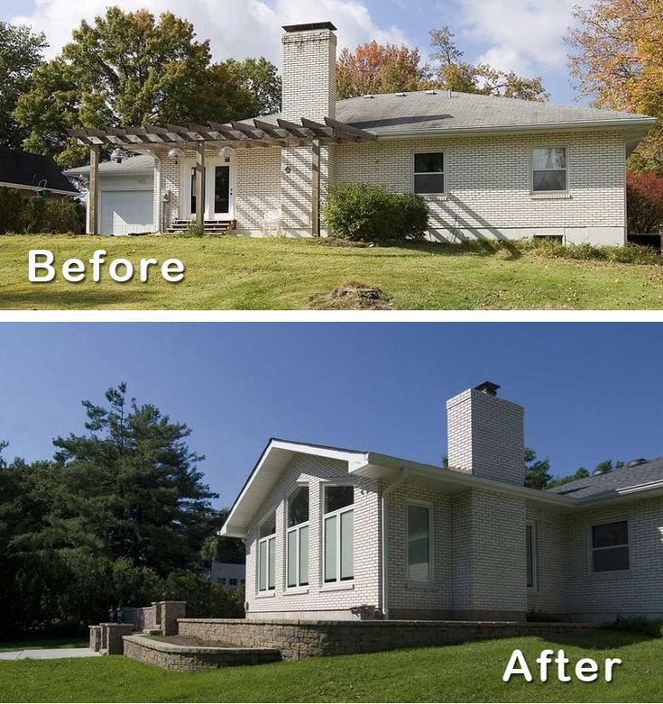 #3: Easy to add on. 5 Reasons to Remodel a Ranch House