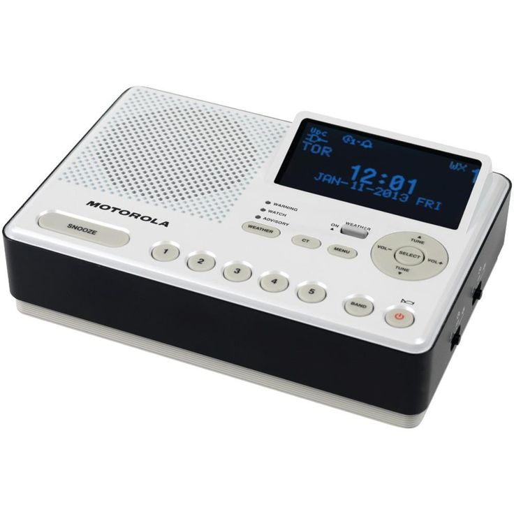 Motorola Desktop Am And Fm Weather Radio