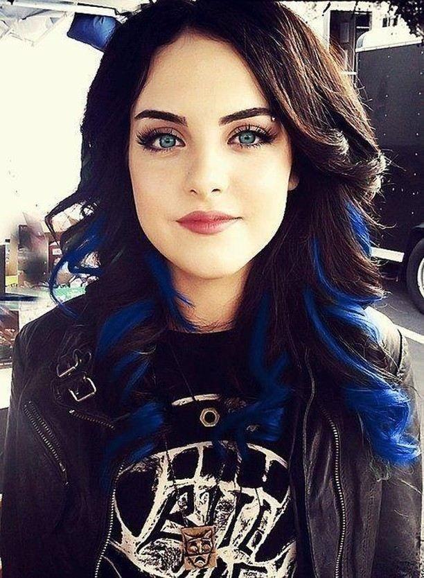 Jade West Blue Straight New Hair Hair Styles Beautiful Hair