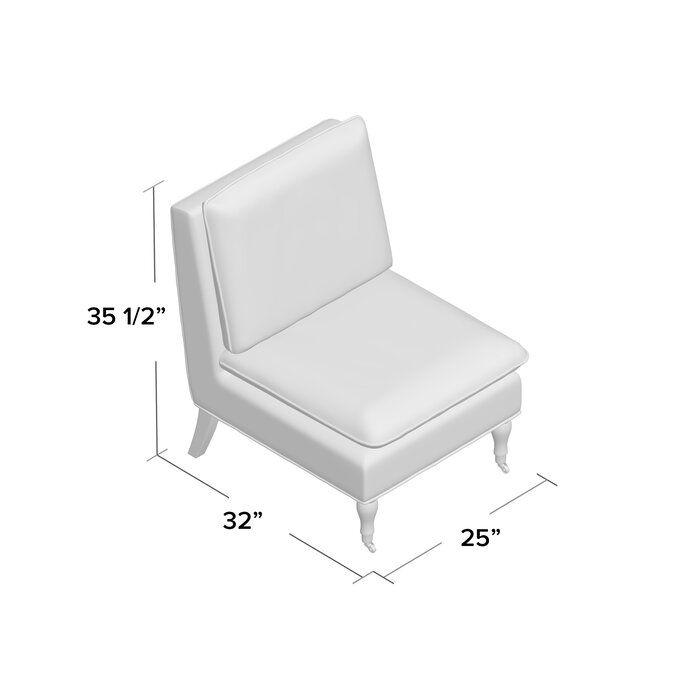 Highland Dunes Erica Slipper Chair Wayfair In 2020 Chair Chair Upholstery Upholstered Dining Chairs
