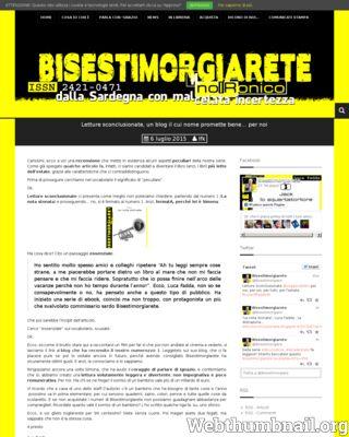 Libri, Conosciamo il primo numero di Bisestimorgiarete, la serie noIRonica sarda su www.bisestimorgiarete.lucafadda.it