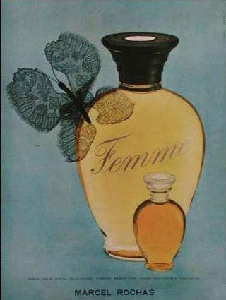 Femme by Rochas created by Edmond Roudnitska in 1944.