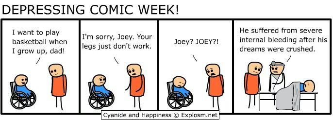 Depressing comic week :3 ~Cyanide and Happiness~