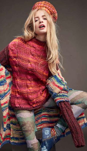 Our favorite thing about Autumn? Thick knits and Autumnal shades!