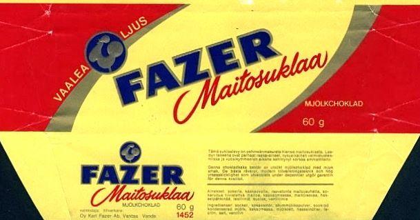 Tämä taisi edeltää Fazerin punaista (70-luvulla?).